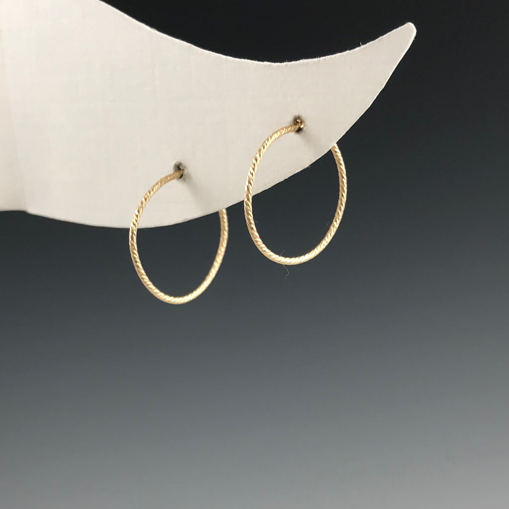 The Hoop- XS Gold