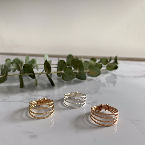 Thick Wrap Ring