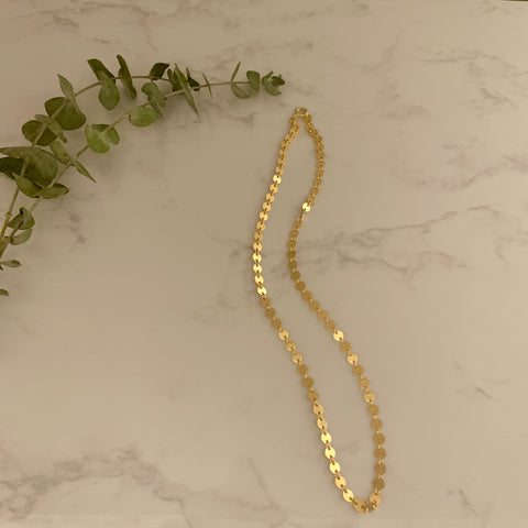 Gold Sequin Chain