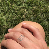 Silver Thick Wrap Ring