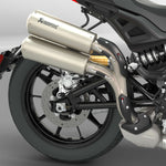 High Mount Slip-On Exhaust by Akrapovič