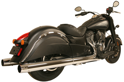 Rush Slip-On Mufflers Chief Classic, Chief Dark Horse, Chief Vintage, Roadmaster Classic