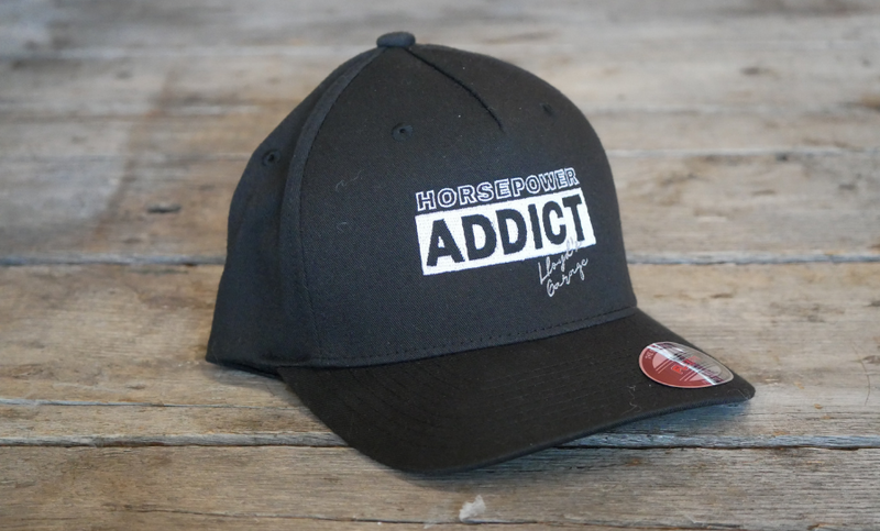 Lloyd'z Garage Official Horse Power Addict Flex Fit Hat
