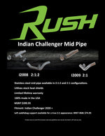 Rush Challenger Mid-Pipe PREORDER!