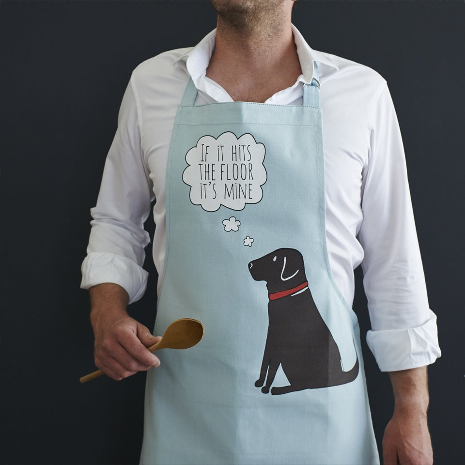 Chocolate Labrador Apron - Sweet William