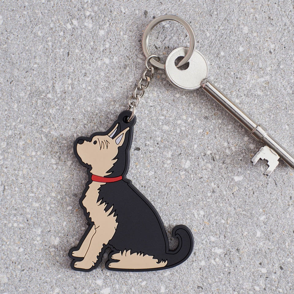 Yorkshire Terrier Dog Keyring - Sweet William