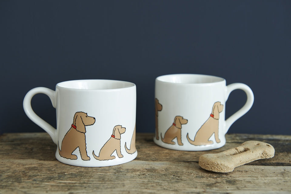 Golden Cocker Spaniel Dog Mug
