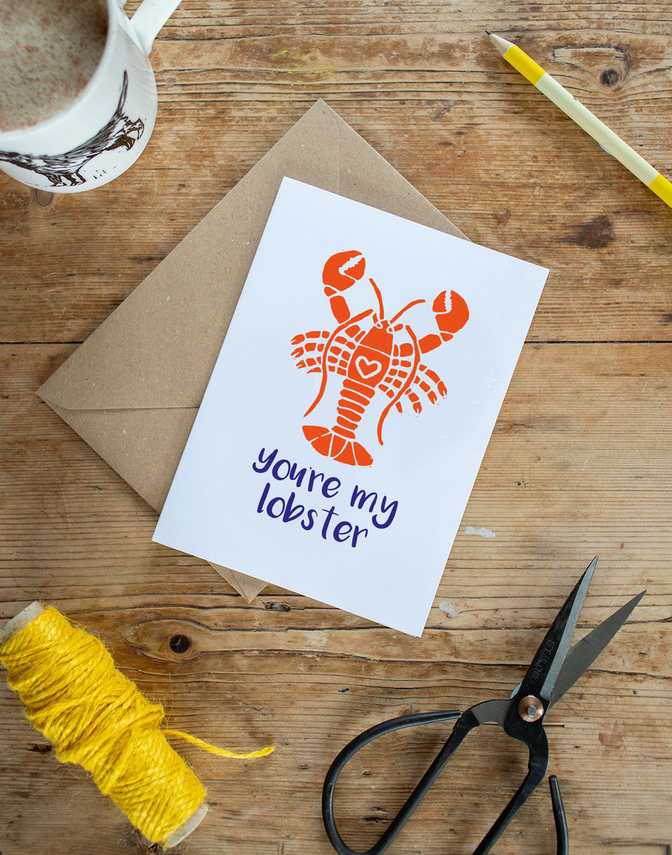 You're My Lobster Card - Ratty Golightly