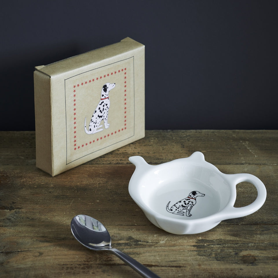 Dalmatian Teabag Dish - Sweet William