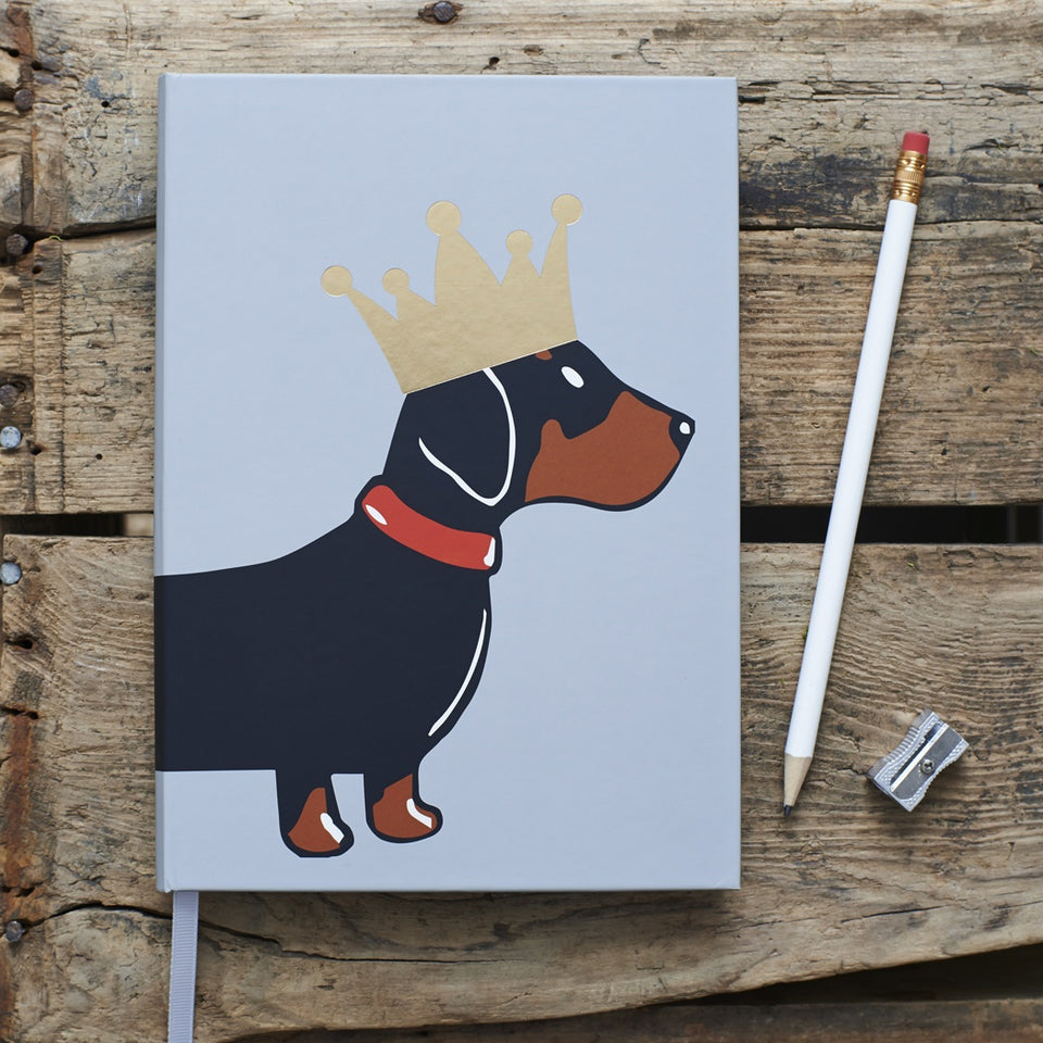 Dachshund Notebook - Sweet William