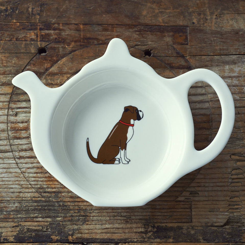 Boxer Teabag Dish - Sweet William
