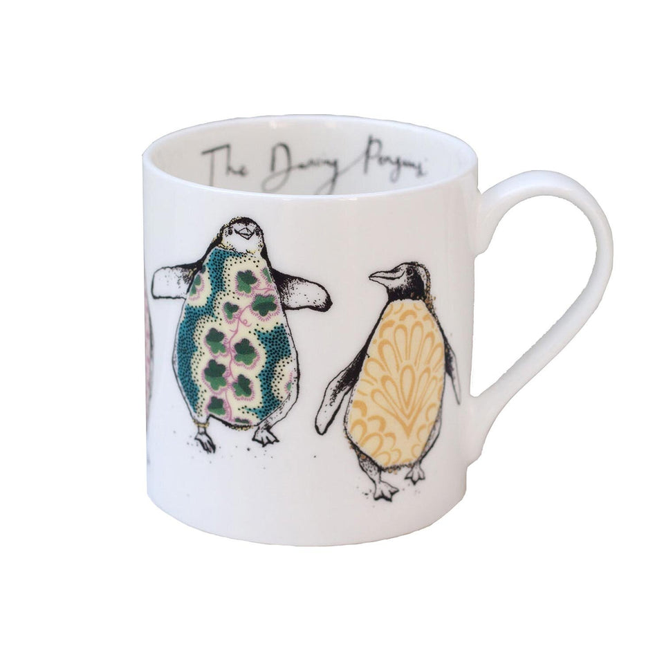 The Dancing Penguins Mug Gift - Anna Wright
