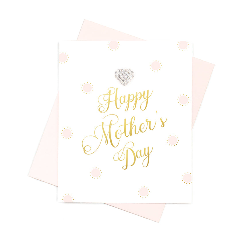 Happy Mother's Day Card - Hearts Designs