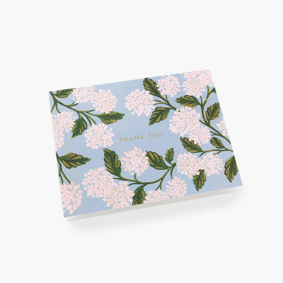 Hydrangea Thank You Card - Rifle Paper Co