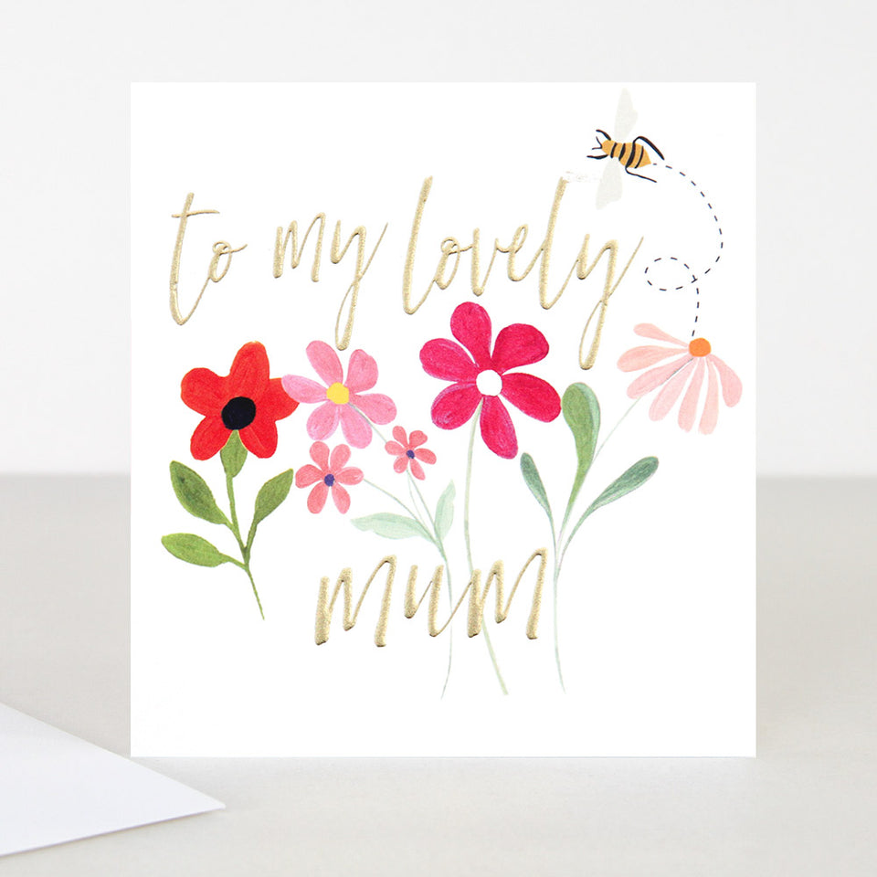 o A Lovely Mum Birthday Card - Caroline Gardner