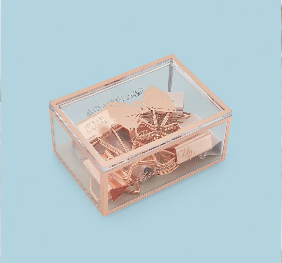 Ted Baker Box of Binder Clips