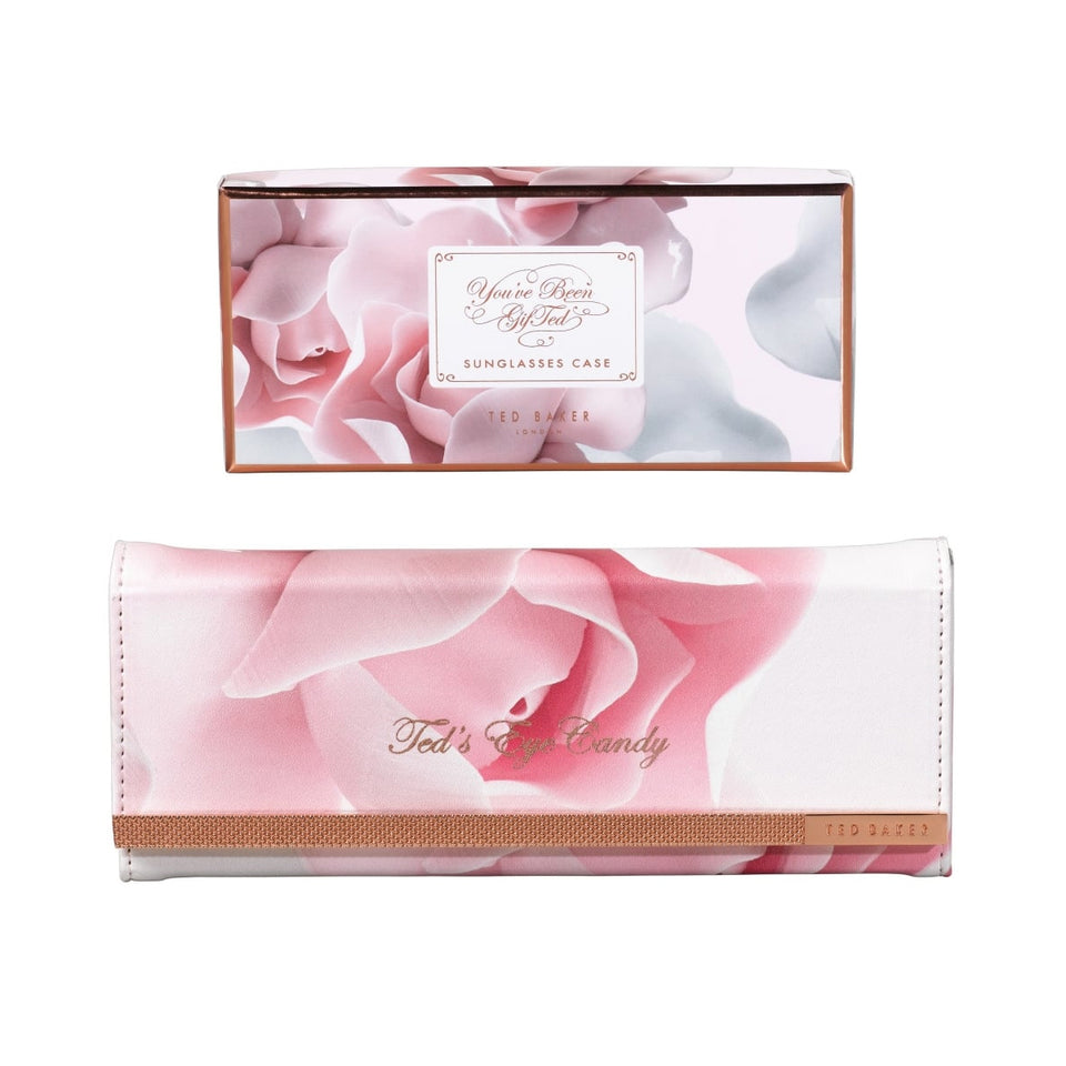 Ted Baker Porcelain Rose Folding Sunglasses Case