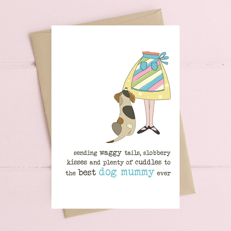 Best Dog Mummy Card - Dandelion Stationery