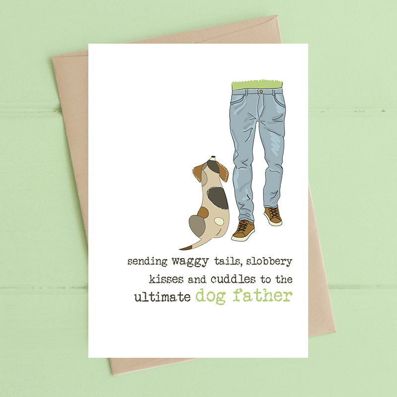 Dog Father Card - Dandelion Stationery
