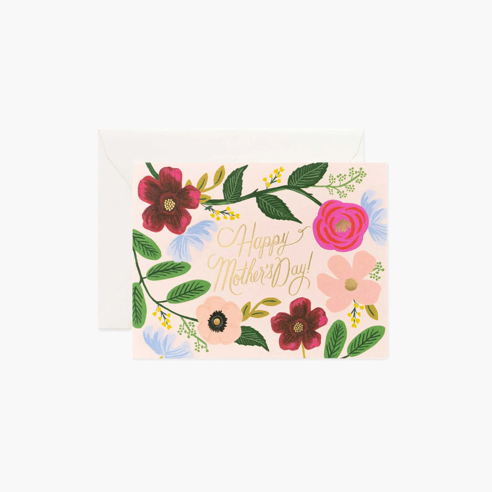 Wildflower Mother's Day Card - Rifle Paper Co