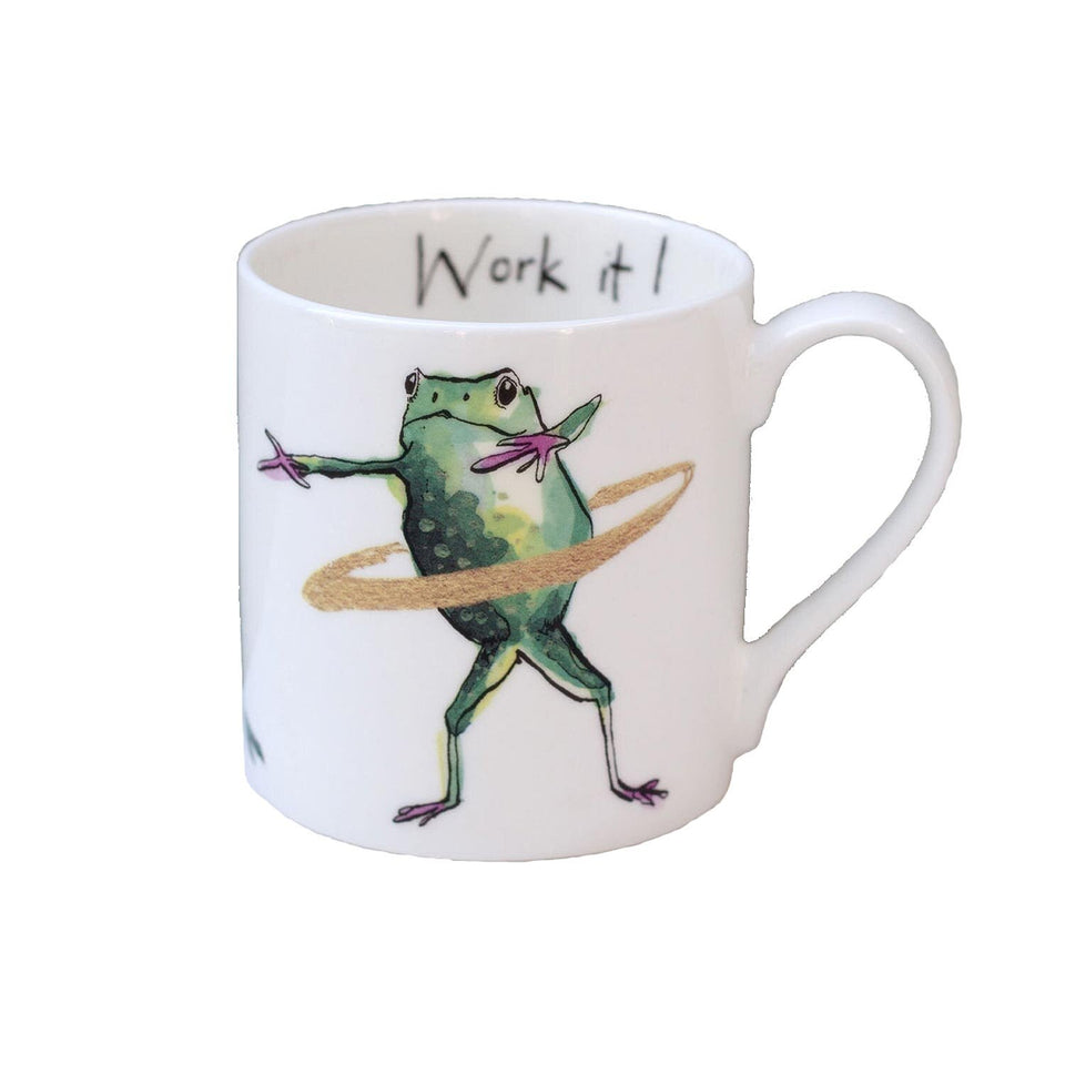Work It! Frog Mug Gift - Anna Wright