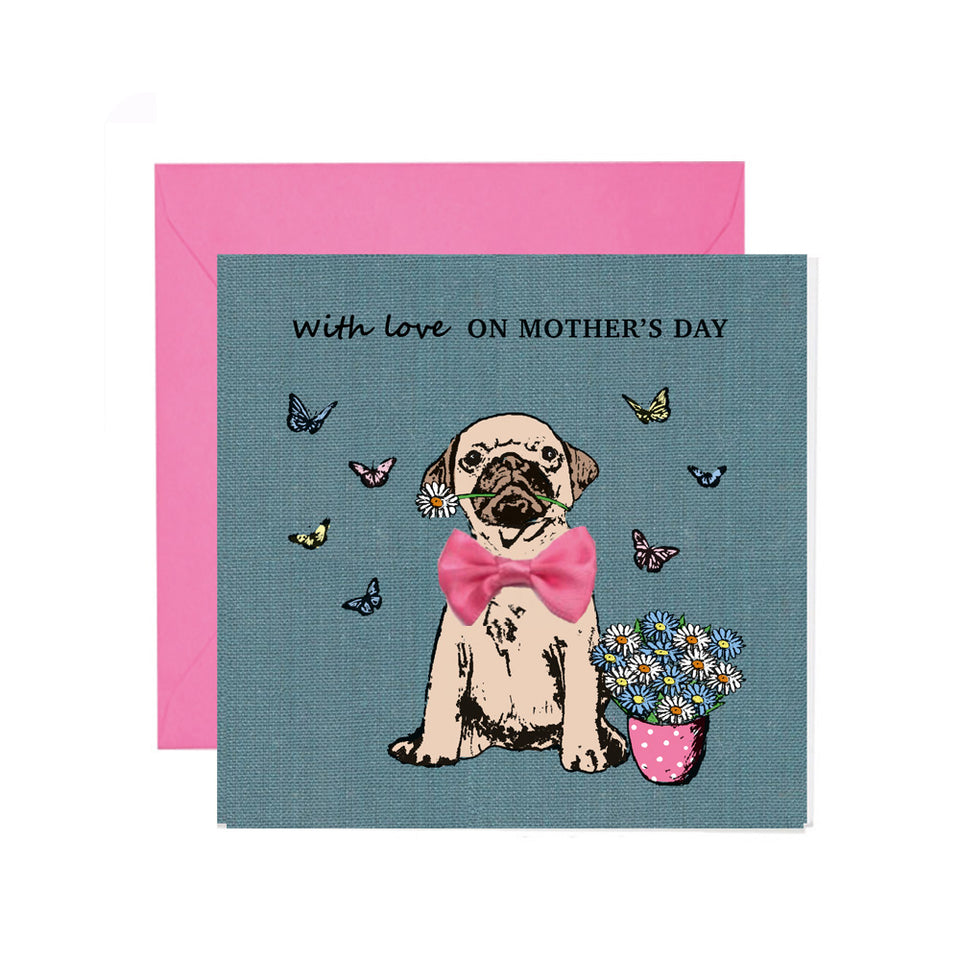 With Love On Mother's Day Card - Apple & Clover