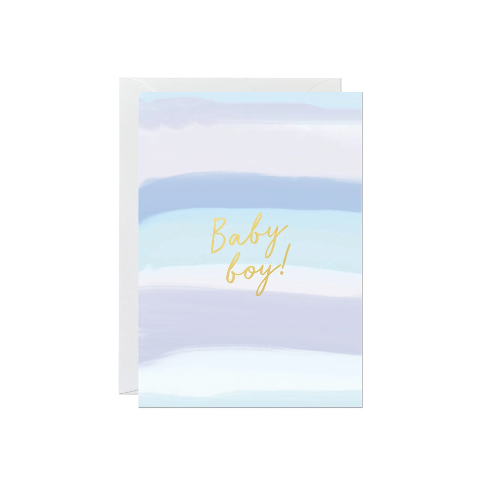 Baby Boy Card - Ricicle