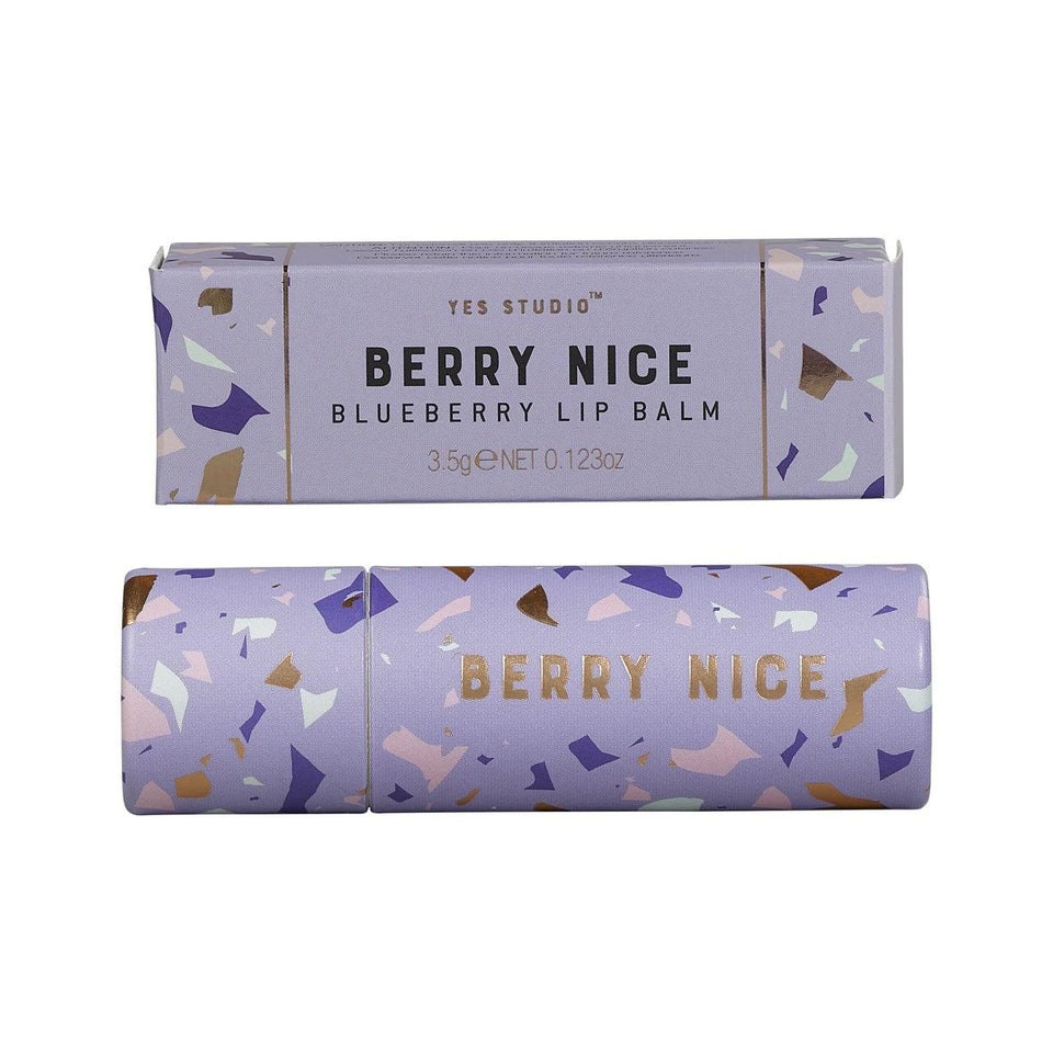 Yes Studio Berry Nice Blueberry Lip Balm