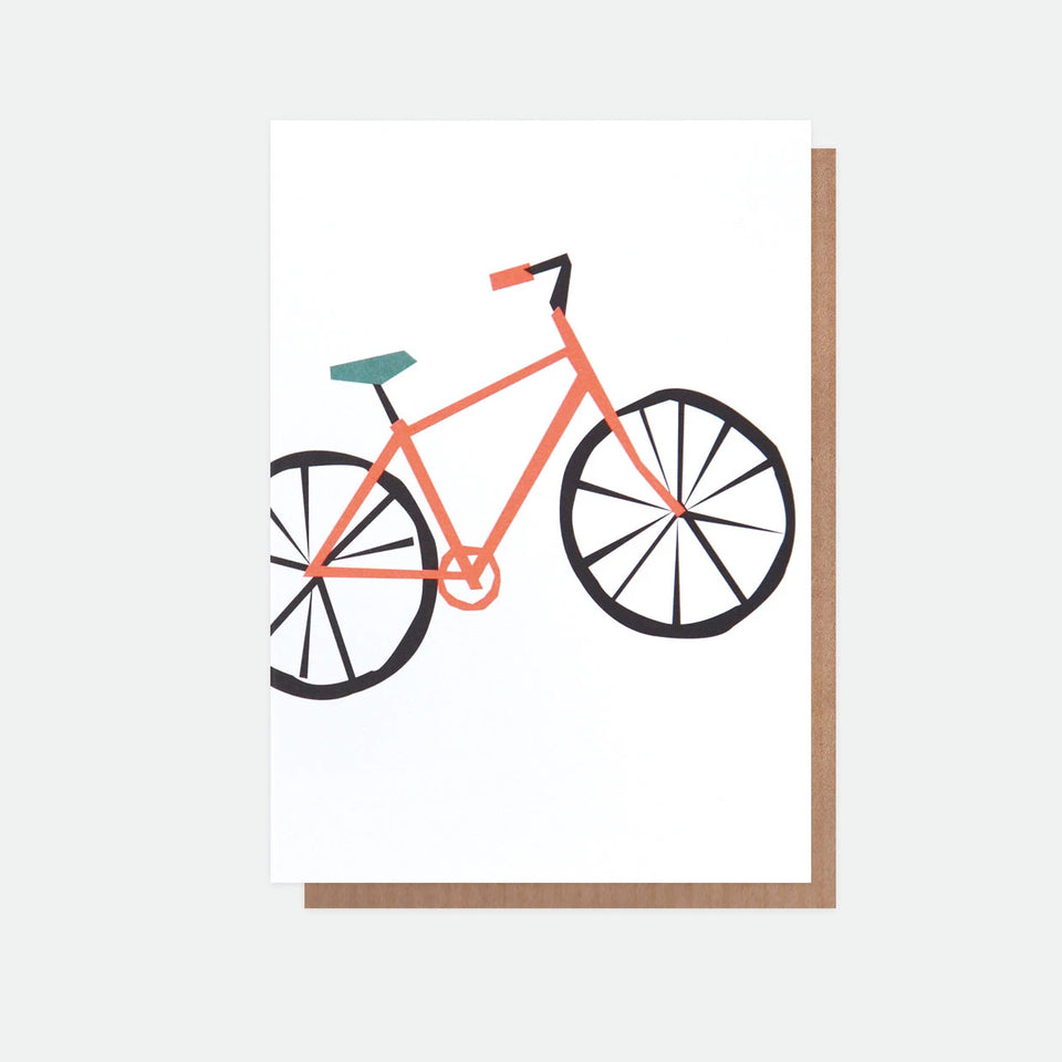 Neon Bike Everyday Card - Caroline Gardner