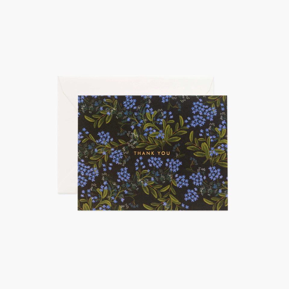 Cornflower Thank You Card - Rifle Paper Co