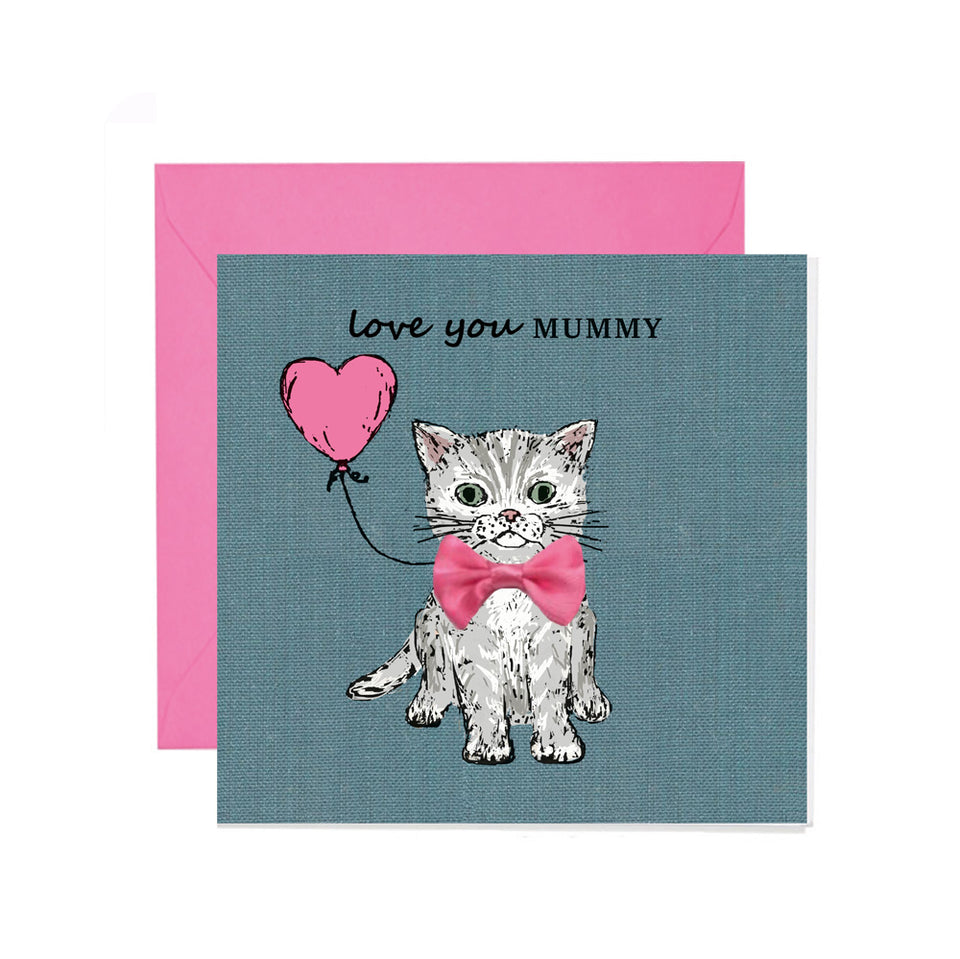 Love You Mummy Mother's Day Card - Apple & Clover