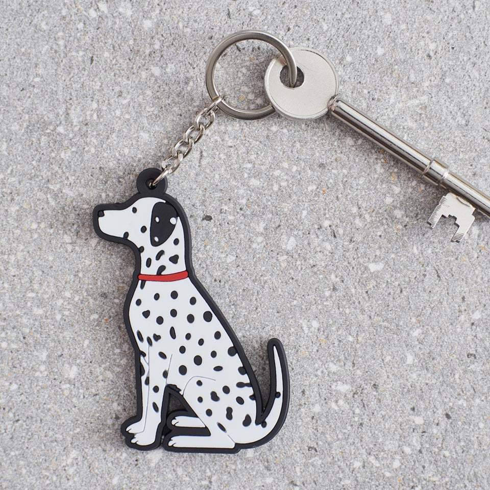 Dalmation Dog Keyring - Sweet William