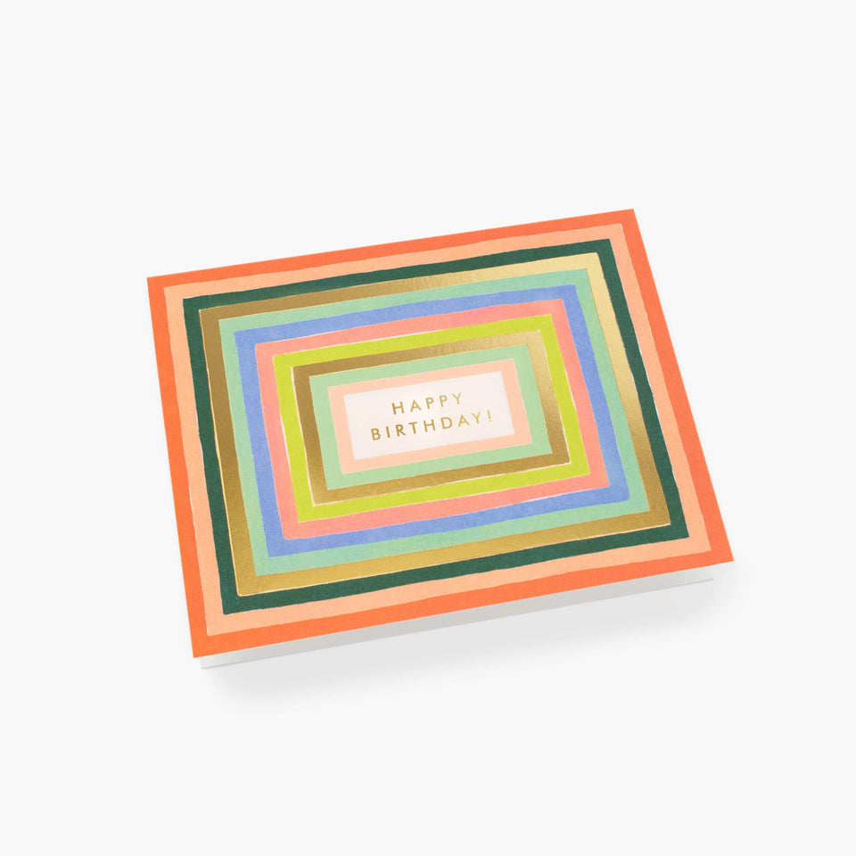 Disco Birthday Card - Rifle Paper Co