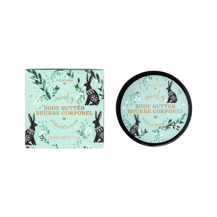 Folklore Minty Elderflower Body Butter