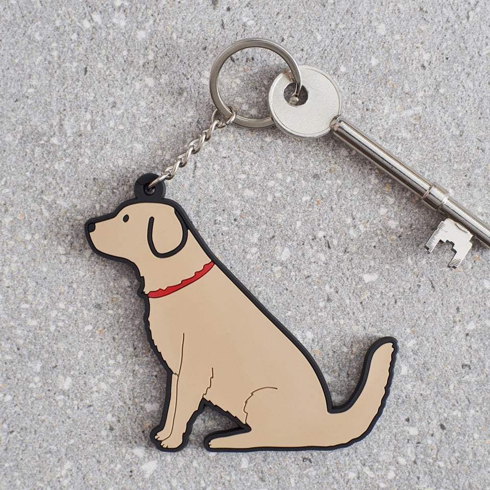Golden Retriever Dog Keyring - Sweet William