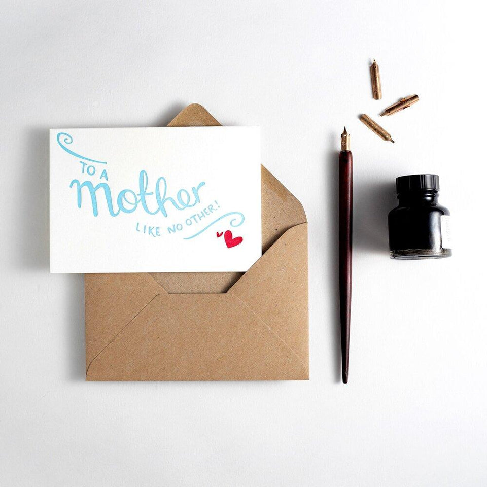 To A Mother Like No Other Card - Hunter Paper Co