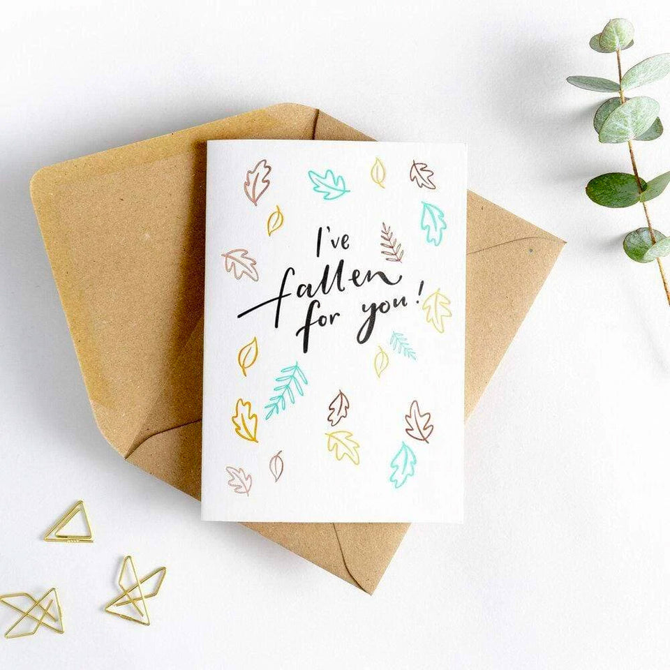 I've Fallen For You Card - Hunter Paper Co