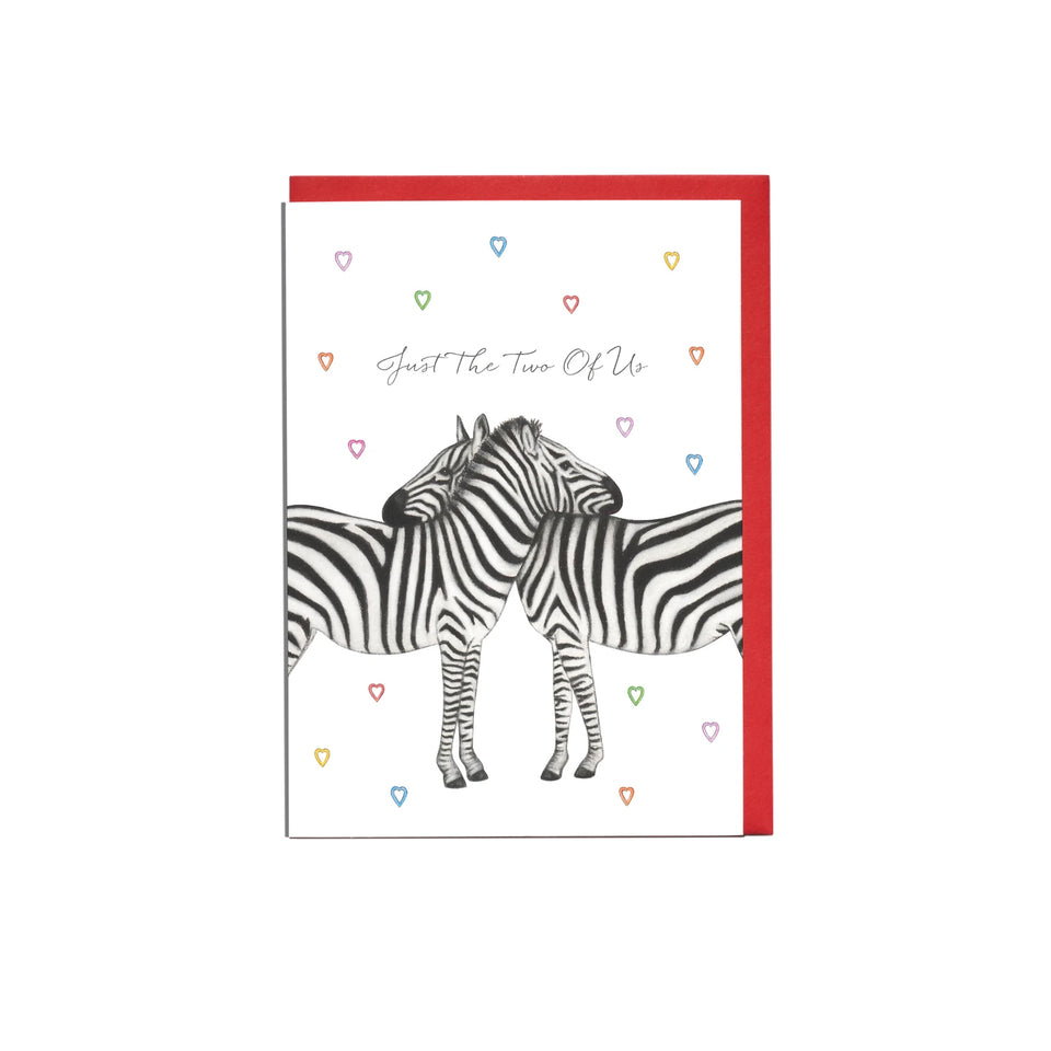 Just The Two of Us Card - Lottie Murphy