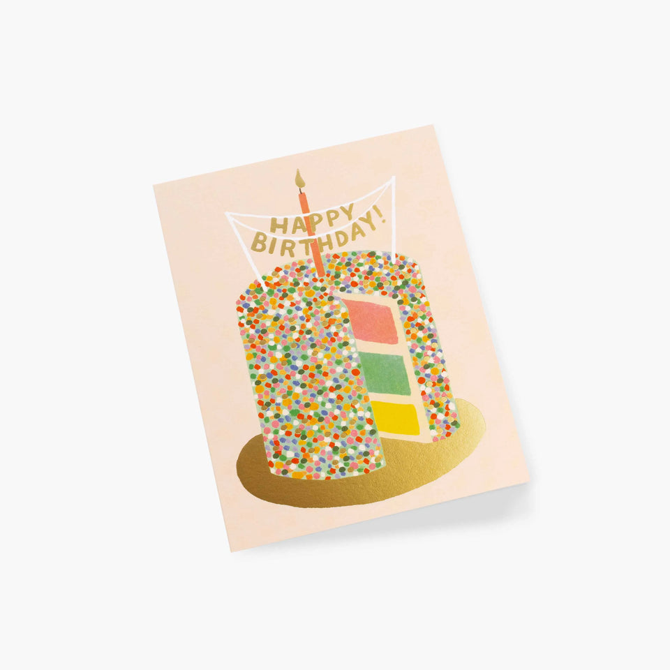 Layer Cake Birthday Card - Rifle Paper Co