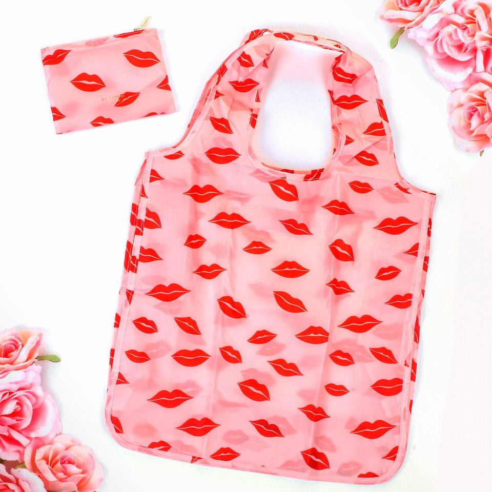 Kate Spade Lips Reusable Tote Bag