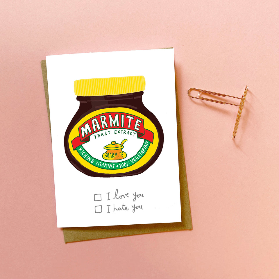Marmite Love - You've Got Pen On Your Face
