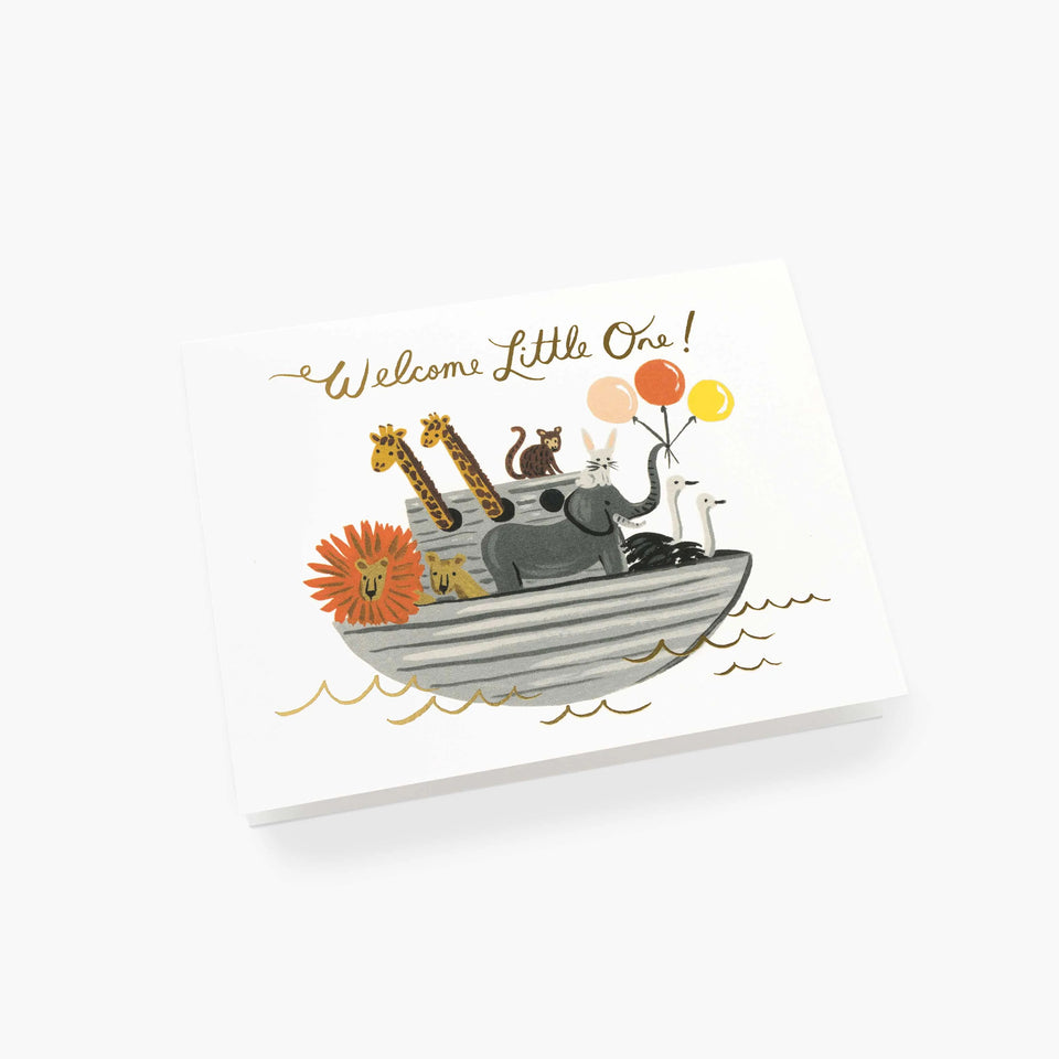 Noah's Ark New Baby Card - Rifle Paper Co