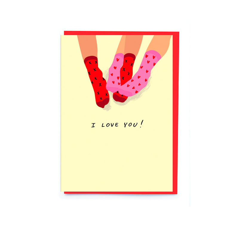 I Love You Valentine's Day Card - Noi