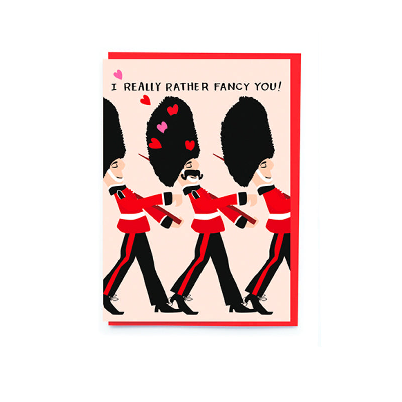 I Really Rather Fancy You Valentine's Day Card - Noi