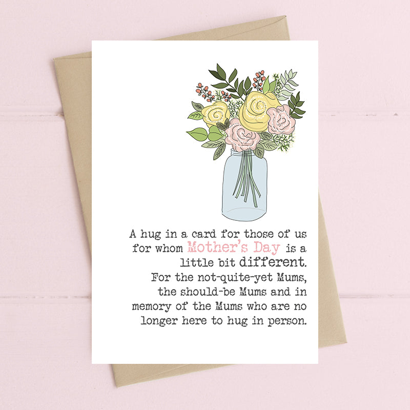 Mother's Day For Missing Mums Card - Dandelion Stationery