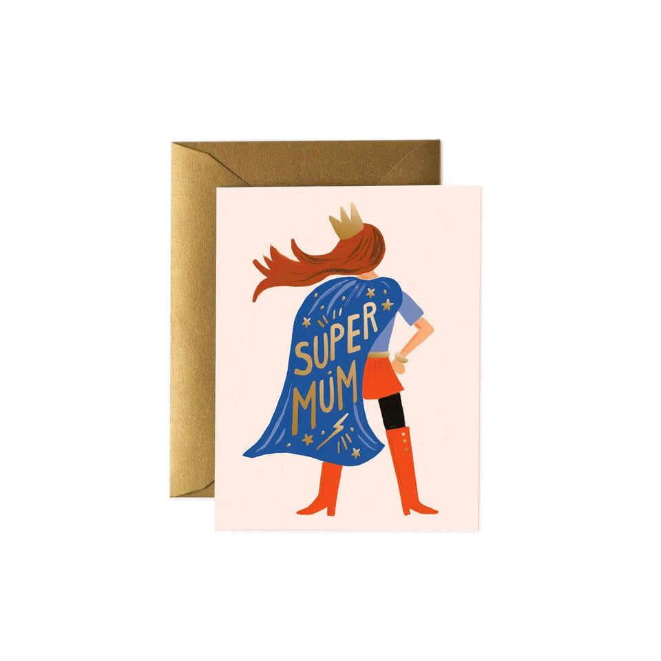 Super Mum Card- Rifle Paper Co