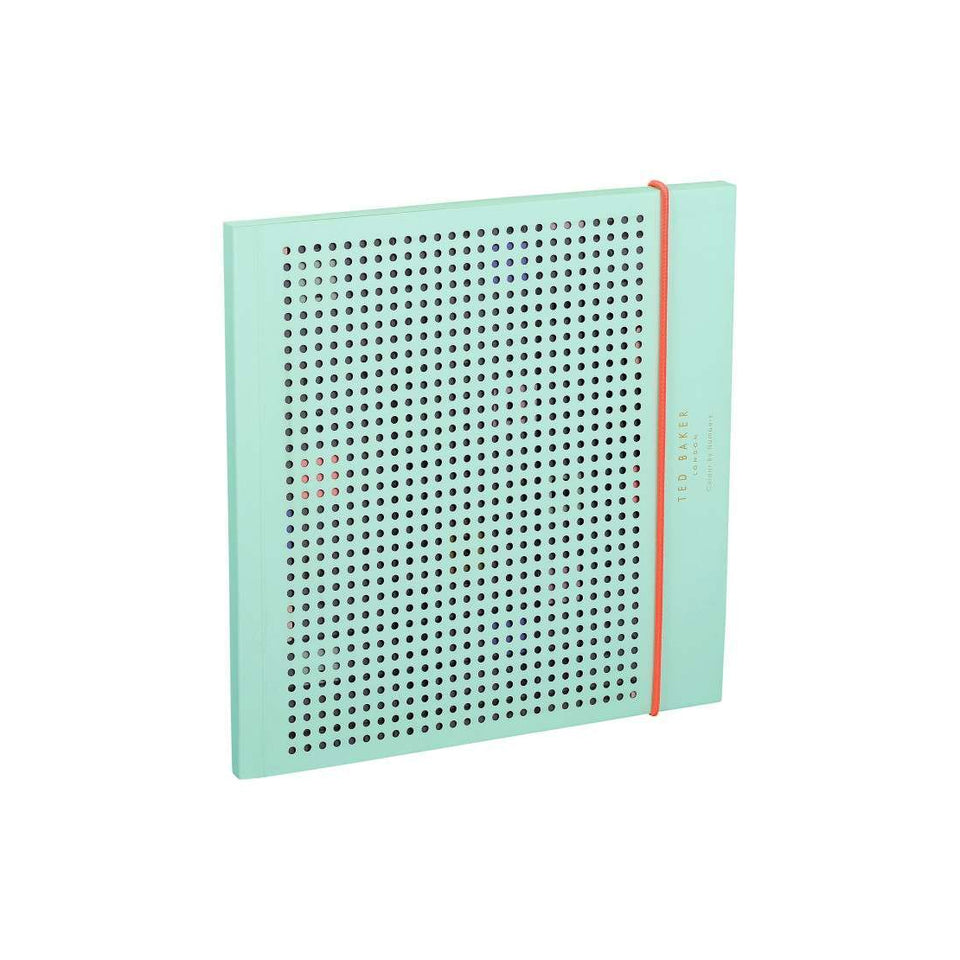 Ted Baker Colour By Numbers Notebook