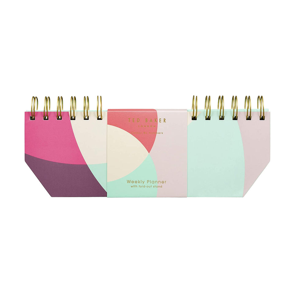 Ted Baker Colour By Numbers Weekly Planner