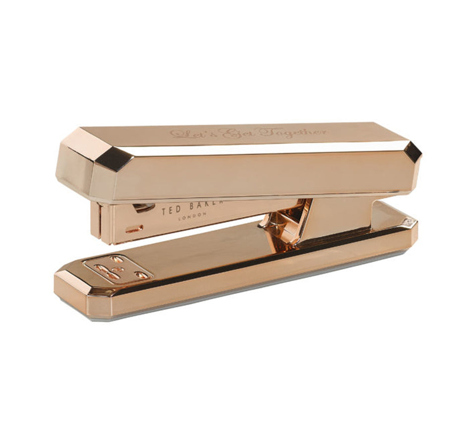 Ted Baker Diamond Rose Gold Stapler