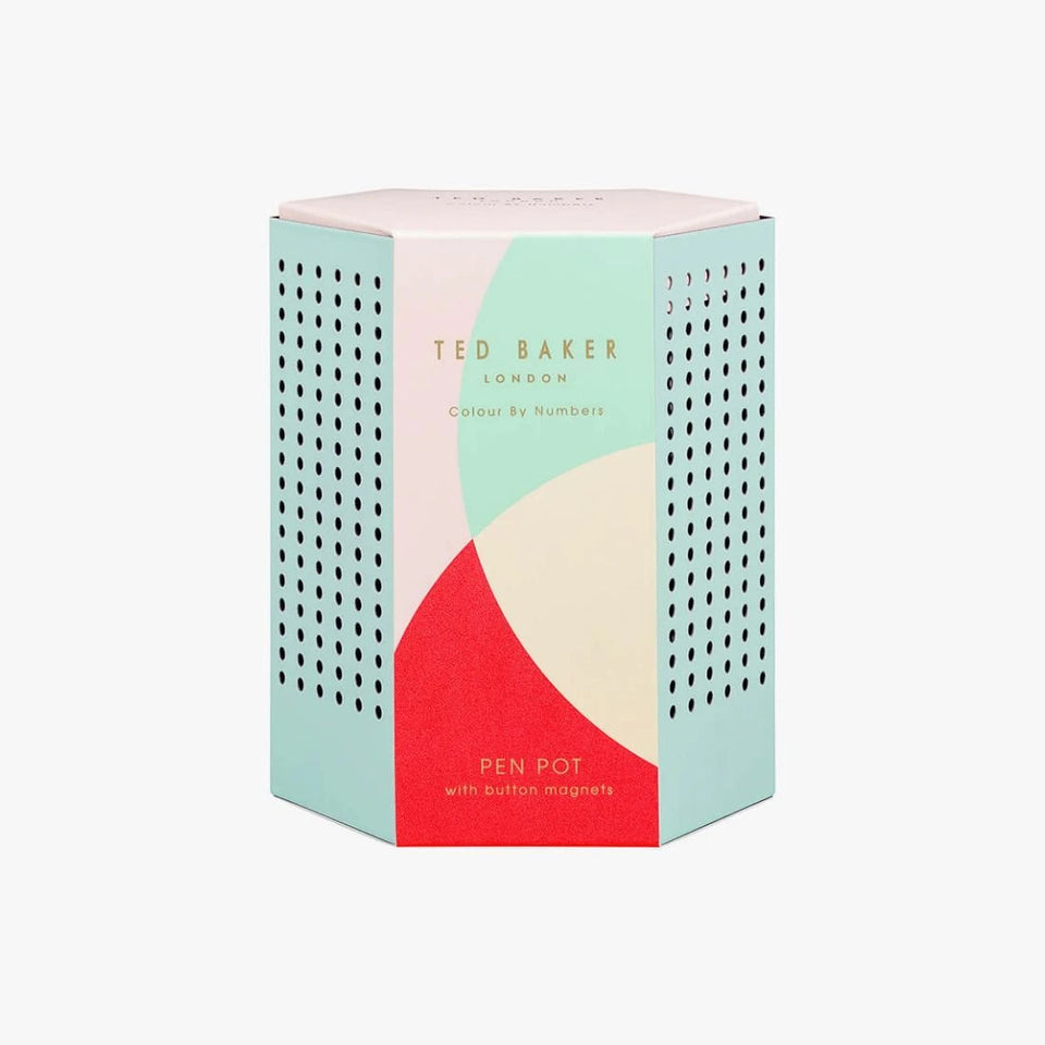Ted Baker Colour By Numbers Pen Pot